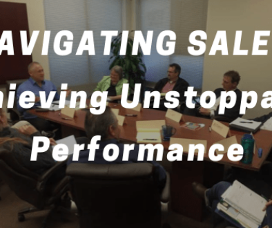 NAVIGATING SALES Achieving Unstoppable Performance